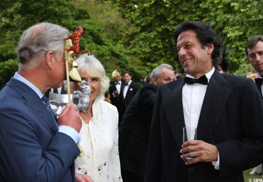 Le prince Charles et Irman Khan