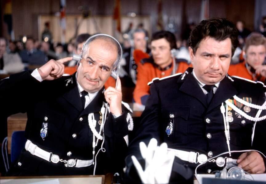 Le Gendarme à New York de Jean Girault (1966). Avec Michel Galabru