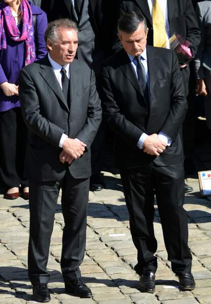 François Bayrou et Yves Jego