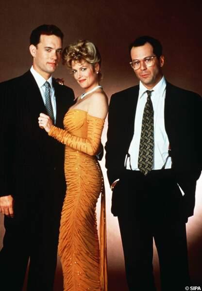 Bruce Willis tente des choix audacieux comme Le bûcher des Vanités avec Tom Hanks et Mélanie Griffith, en 1990