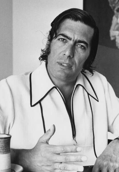 Mario Vargas Llosa en 1975
