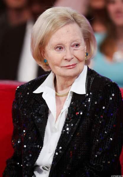 L'actrice Michèle Morgan, 23 ans (en réalité 93 ans)