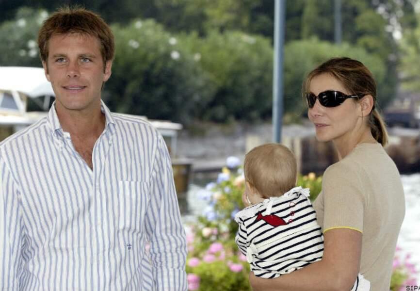 En décembre 2003 naît la fille aînée du couple, Vittoria, suivie en 2007 d'une petite Luisa