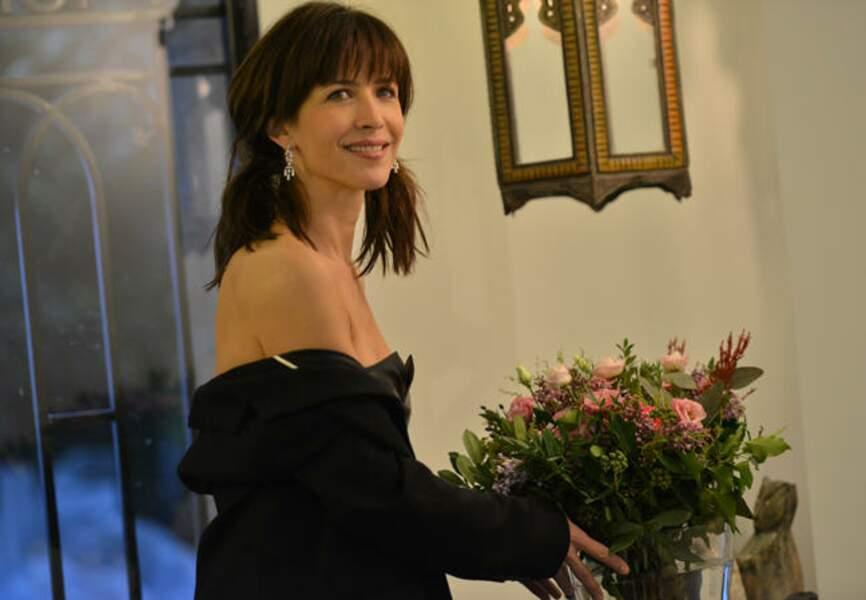Sophie Marceau à domicile