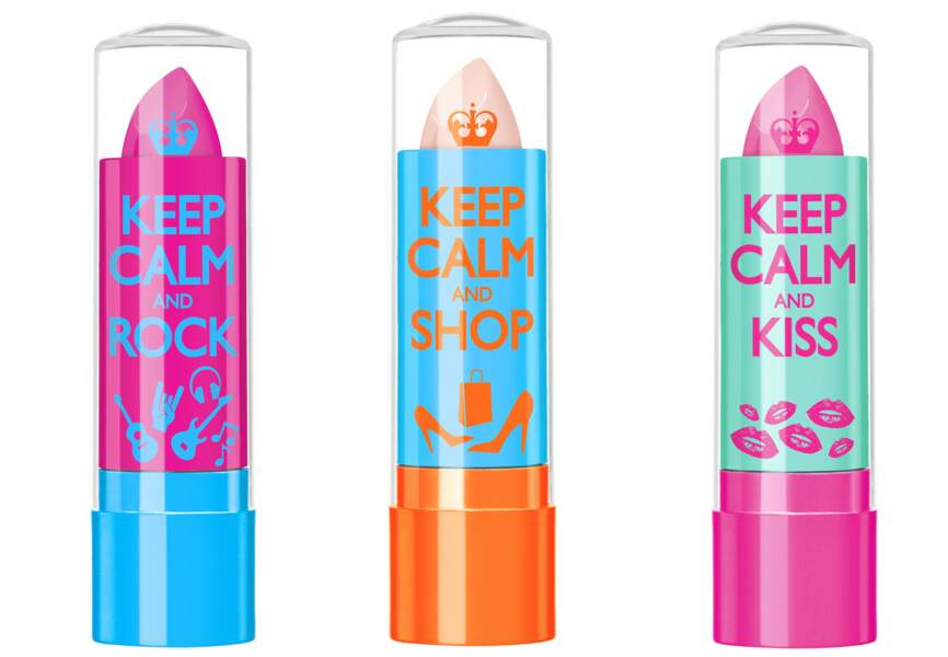 Rimmel, Baumes Keep calm and be beautiful, 4,50€