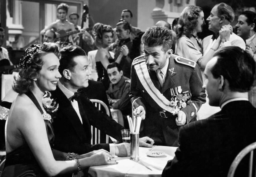 Mission à Tanger d'Andre Hunebelle (1949). Avec Mila Parely, Raymond Rouleau et Gaby Sylvia