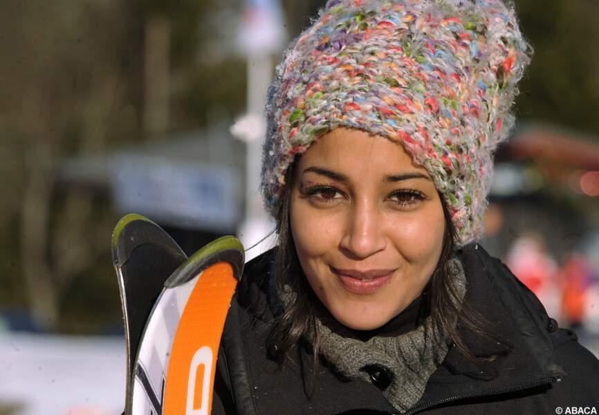 Leila Bekhti tout schuss au festival de Gerardmer de 2009