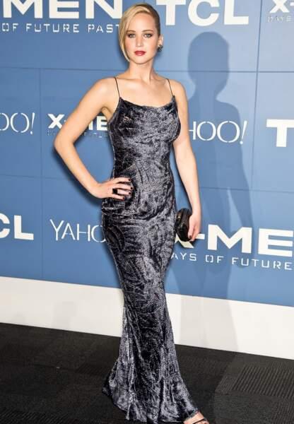 Jennifer Lawrence à l'avant-première de X-Men : Day of Future Past