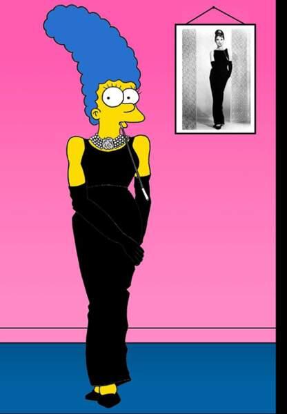 Marge Audrey Hepburn