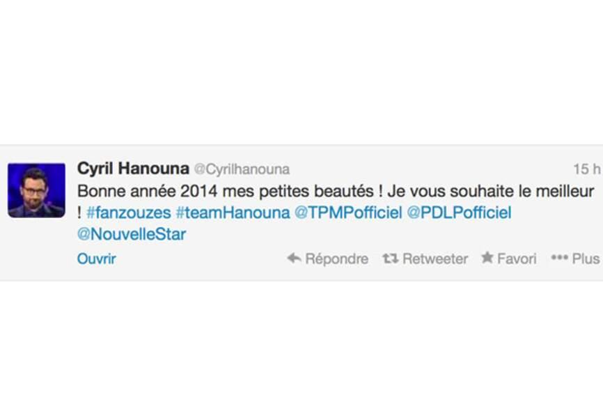 Les voeux du trublion du PAF, Cyril Hanouna