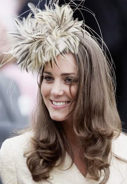 Version jungle tropicale pour Kate Middleton en mai 2006