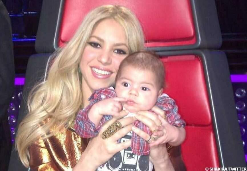 Janvier: Shakira a accouché de Milan