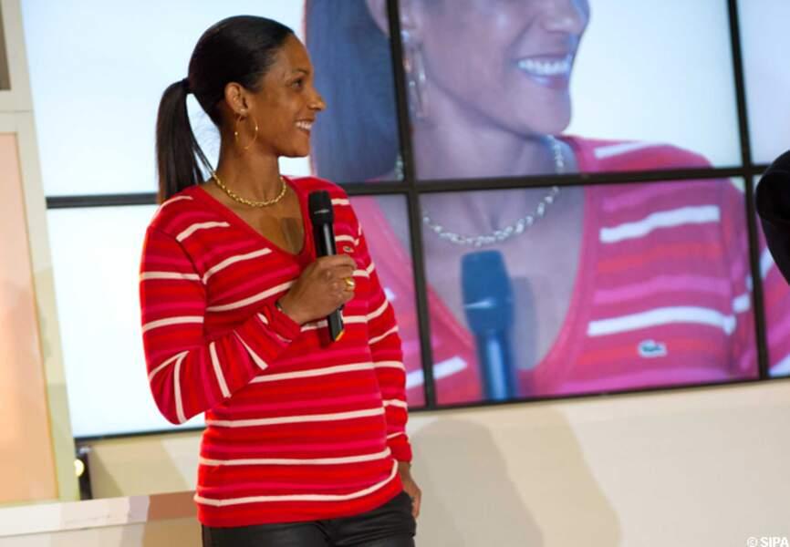 Mai: Christine Arron a donné naissance à Cassandre