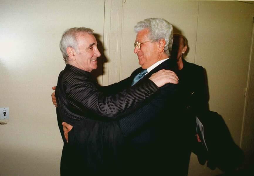 Francesco et Charles Aznavour