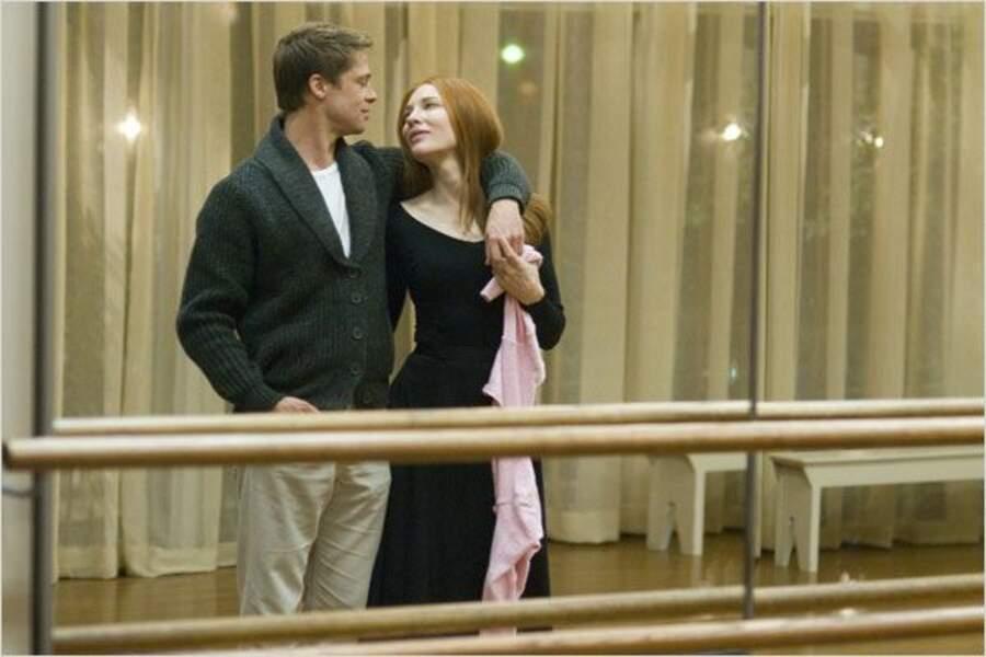 Cate Blanchett dans les bras de Brad Pitt dans L'étrange histoire de Benjamin Button