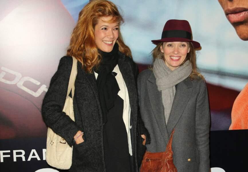 Mélanie Doutey et Anne Marivin