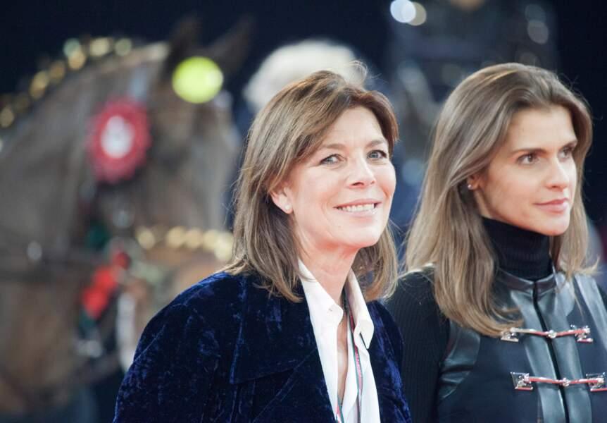 Caroline de Monaco, présidente de l'AMADE (Association Mondiale des Amis de l'Enfance)