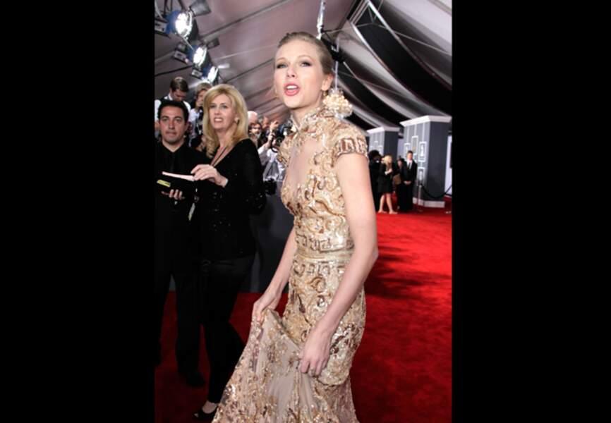 Taylor Swift n'affiche pas les mêmes courbes