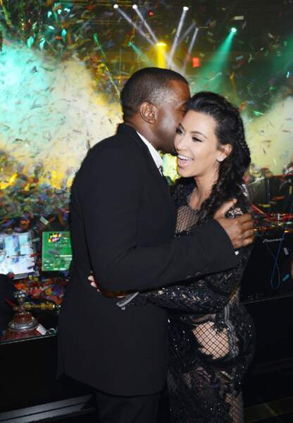 Kanye West et Kim Kardashian à Las Vegas