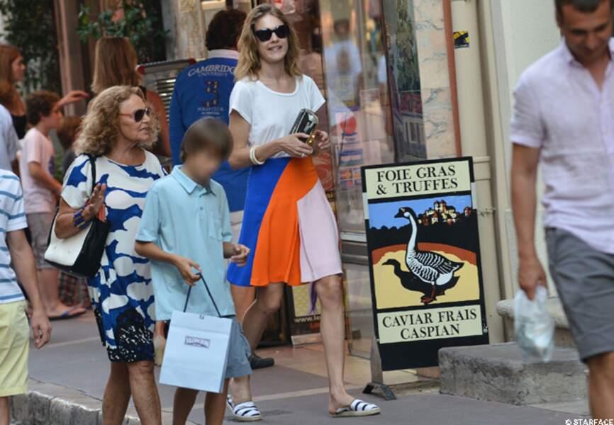 Entre copines... Natalia Vodianova et Diane Von Furstenberg