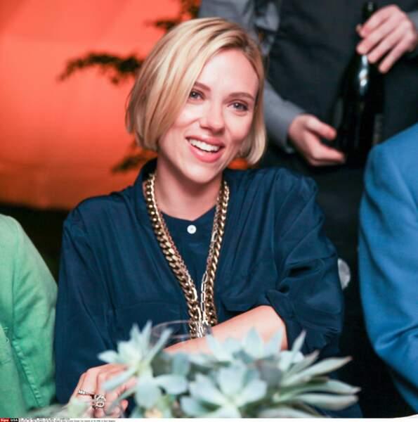 Le court: enceinte, Scarlett Johansson veut du frais