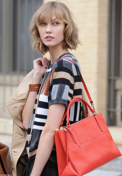Le top model Karlie Kloss