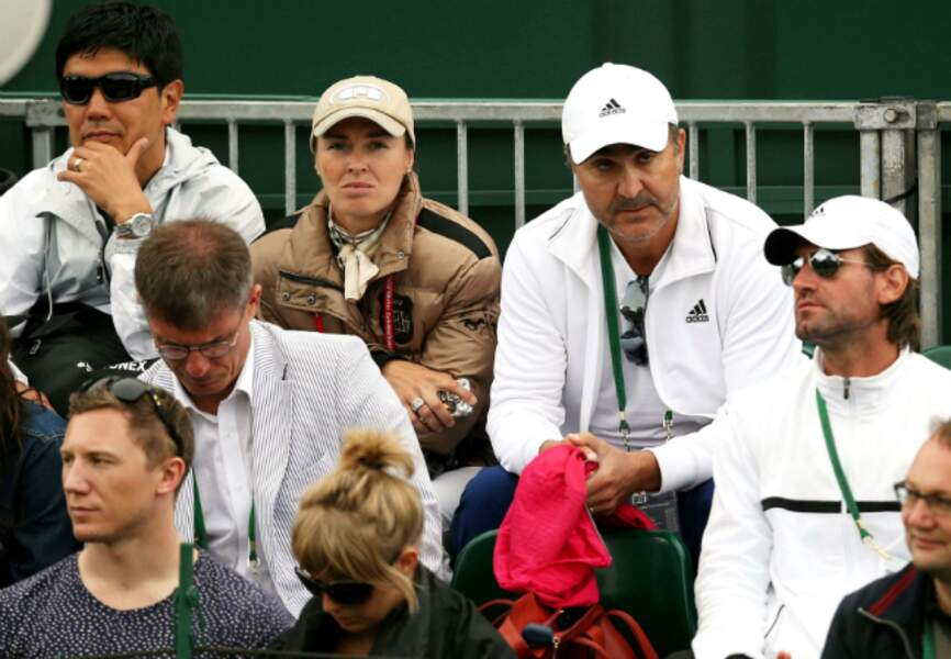L'ancienne championne de tennis Martine Hingis