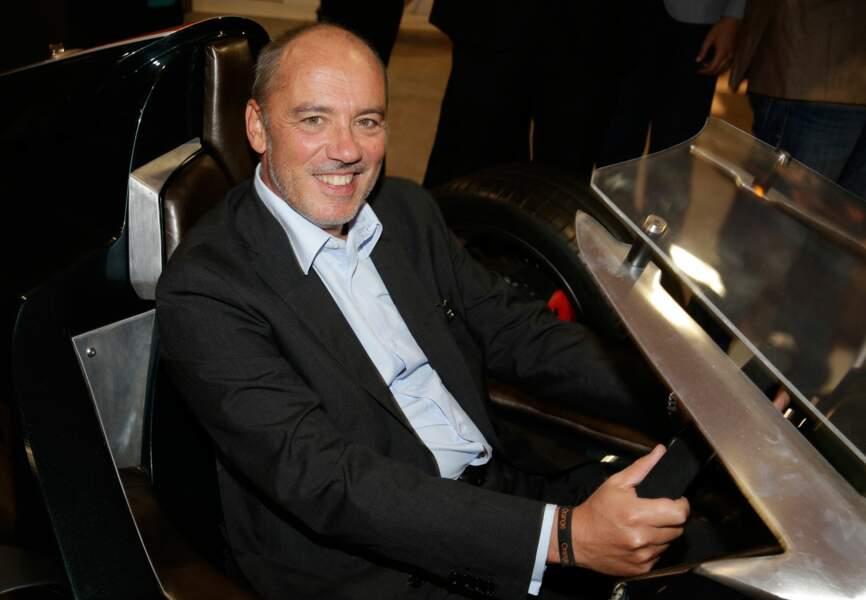 Le PDG d'Orange Stéphane Richard