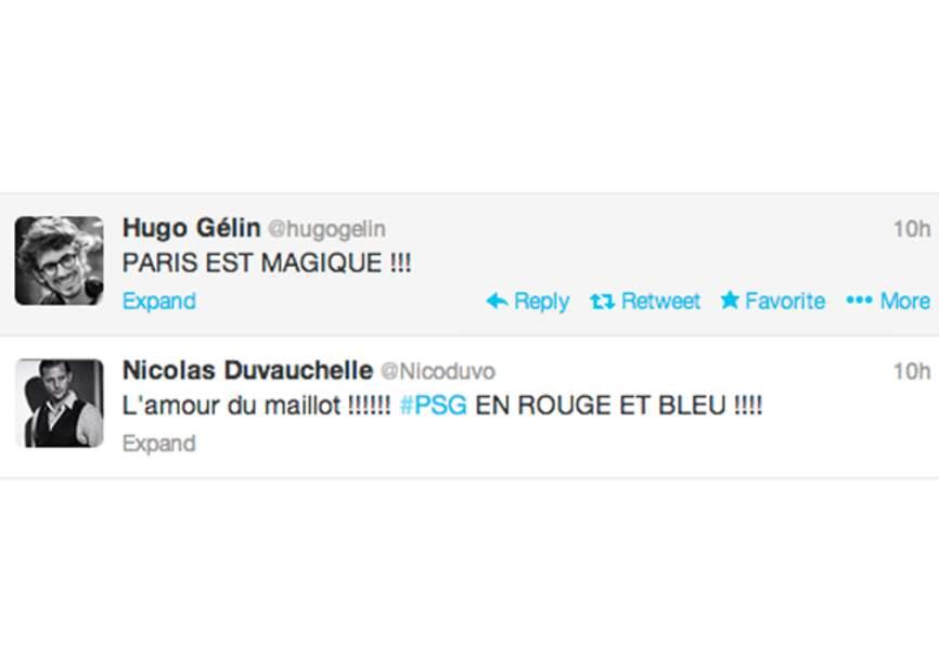 @HugoGélin et @Nicoduvo, toujours très Parisiens...