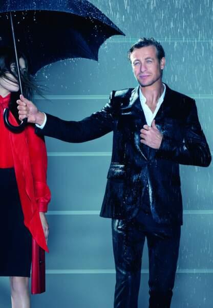 Simon Baker pour Gentlemen Only de Givenchy