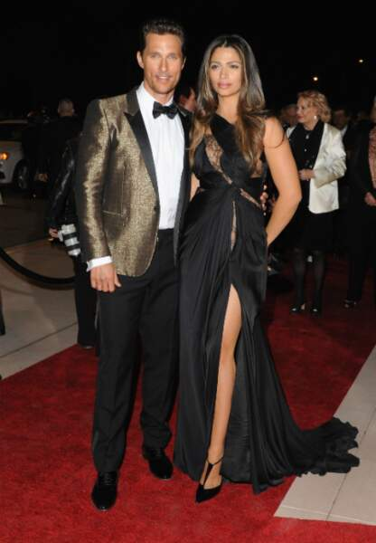 Matthew McConaughey et son épouse: Camilla Alves