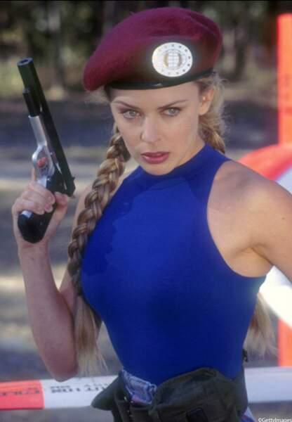 Kylie Minogue joue le LieutenantCamille dans Street Fighter