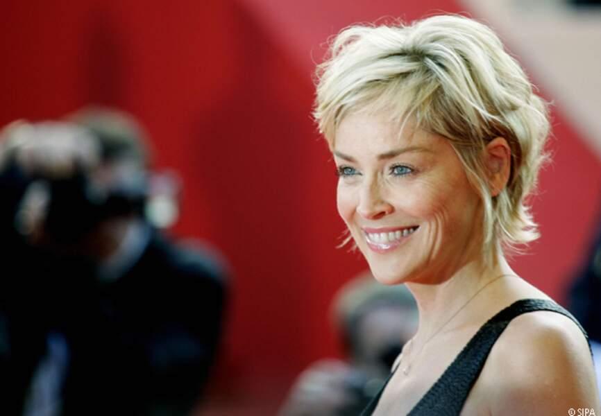 Sharon Stone à Cannes en 2007