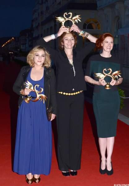 Marlou Berry, Corine Masiero et Audrey Fleurot