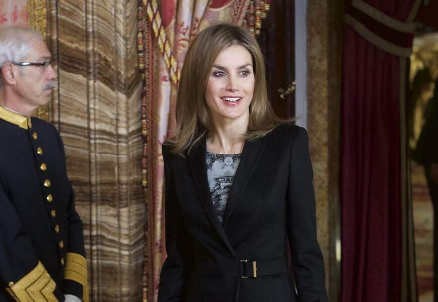 Letizia d'Espagne, tout sourire avec sa nouvelle coupe de cheveux