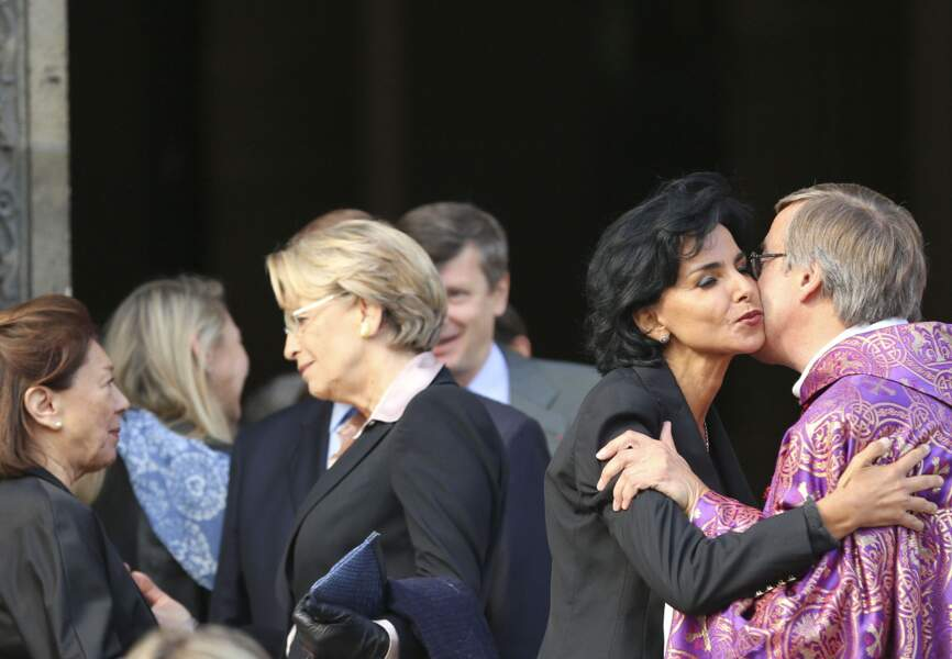 Michèlle Alliot-Marie et Rachida Dati
