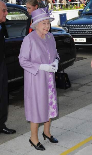 Elizabeth II ose le lavande