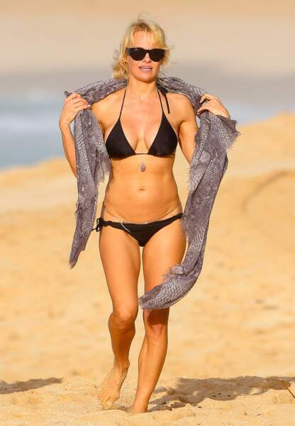 Pamela Anderson à Hawaï