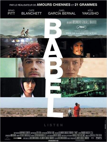 Babel de Alejandro Gonzales Inarritu en 2006