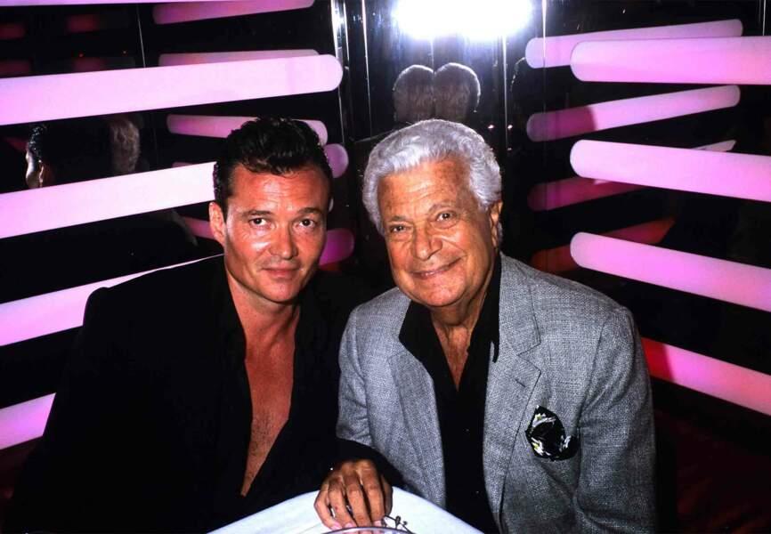 Le styliste et son dauphin Franck Boclet