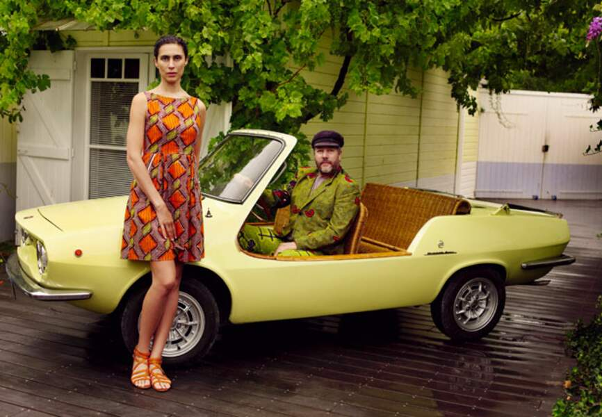 La Fiat Shelette de Philippe Stark, estimée entre 30 000 et 40 000€