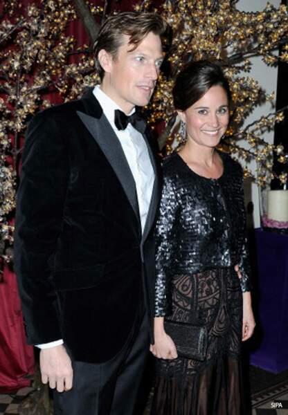 Pippa Middleton et Nico Jackson, si séduisants et si british, sont prêts.