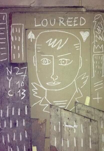 Jean-Charles de Castelbajac rend hommage à Lou Reed