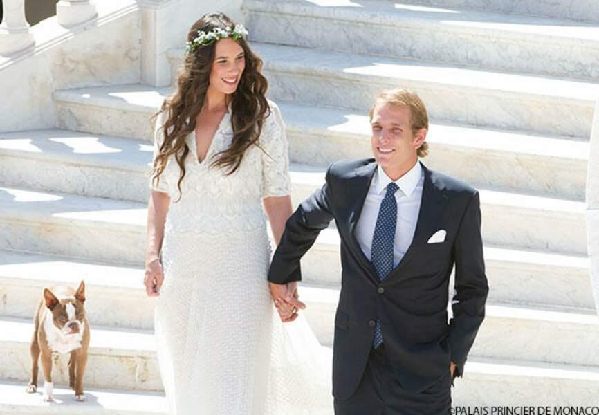 Mars: Andrea Casiraghi et sa femme sont les heureux parents de Sacha