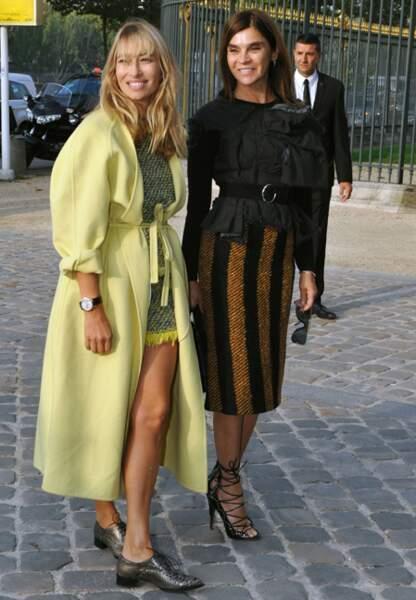 Alexandra Govolanoff et Carine Roitfeld