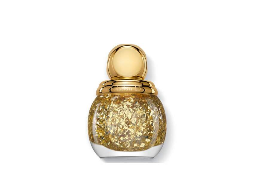 Dior, Top Coat effet feuille d'or, 27,50€