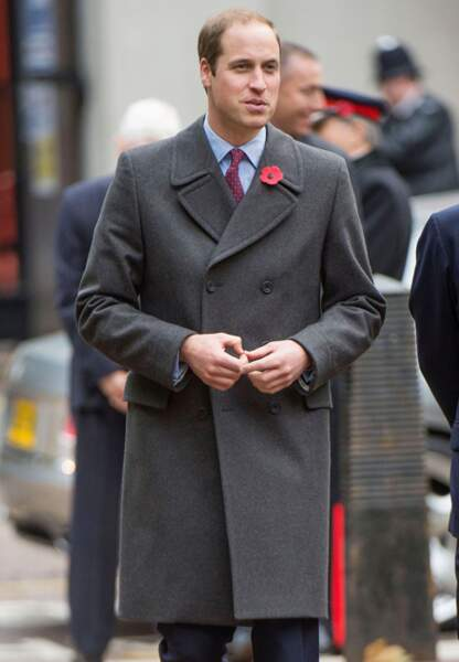 L'arrivée du prince William