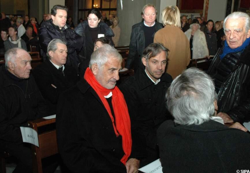 Jean-Paul Belmondo et son fils Paul