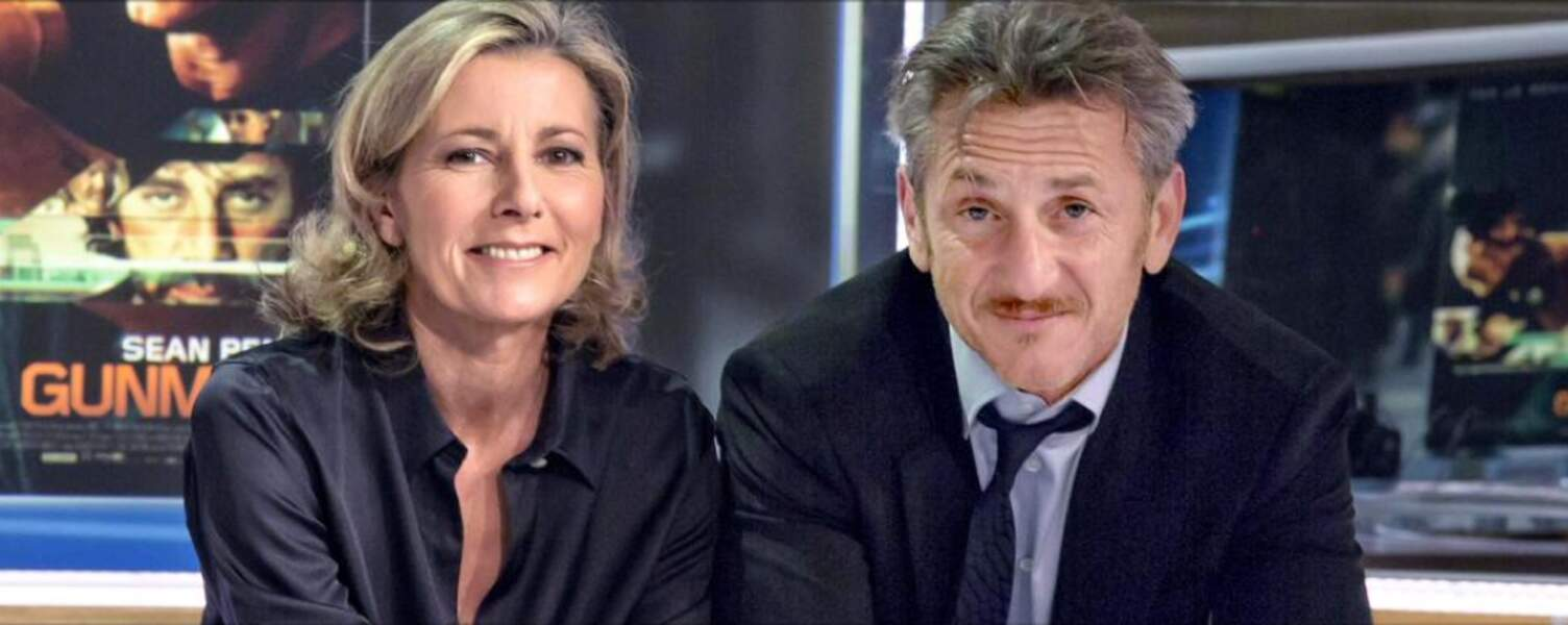 Elle reçoit Sean Penn
