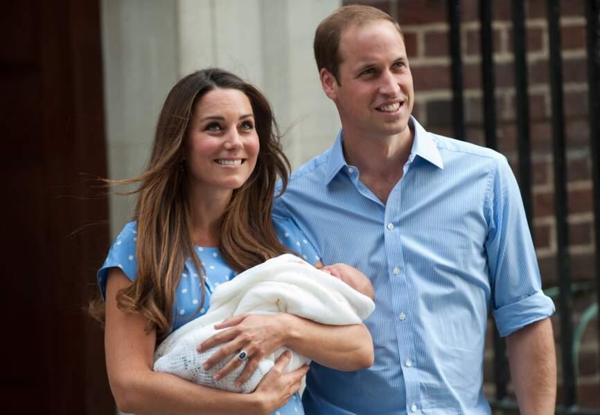 Le 22 juillet 2013, elle donne naissance à un petit garçon prénommé George, à l'hôpital St Mary's